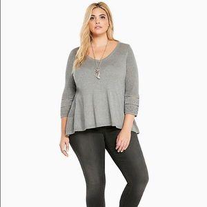Torrid Grey Sweater
